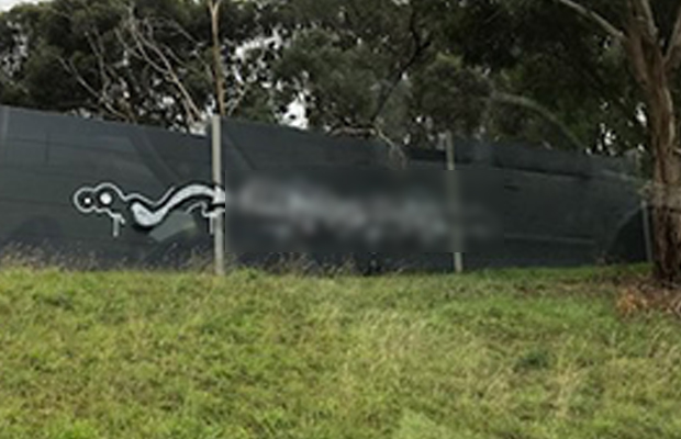 Article image for 'Disgusting' highway vandalism angers highway motorists