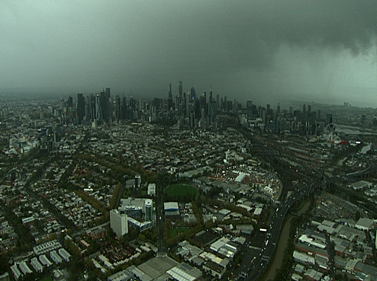 Article image for Wet and wintry Melbourne records a new weather record