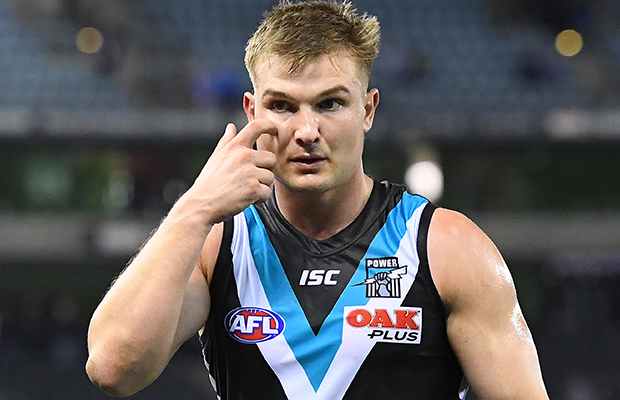 Article image for Ollie Wines suspended for breaking AFL's COVID-19 rules
