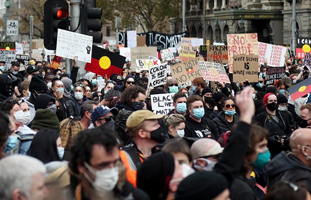 Article image for Victorians 'slackened off' after Black Lives Matter protest, says AMA