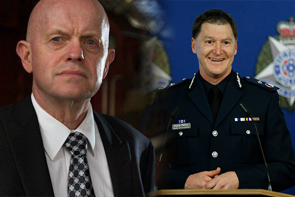 Article image for What Sly thinks of Victoria's new top cop
