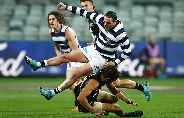 Article image for Geelong under fire for Jack Steven selection