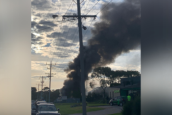 Article image for Explosion at a Mornington Peninsula factory