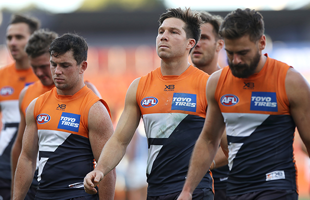 Article image for Toby Greene to miss crunch clash with Western Bulldogs