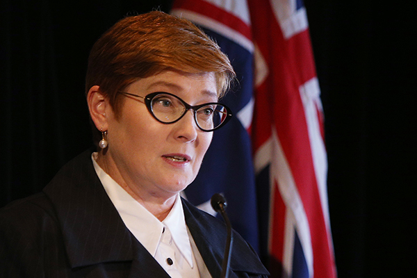 Article image for Australia's Foreign Minister gives China 'a diplomatic punch on the nose'