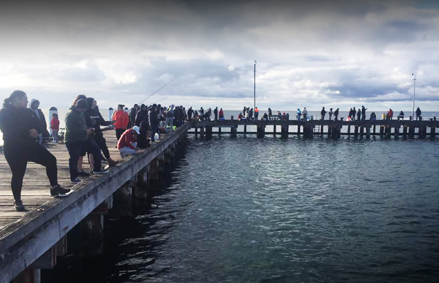 Article image for Peninsula pier shut down after crowds flock without social distancing