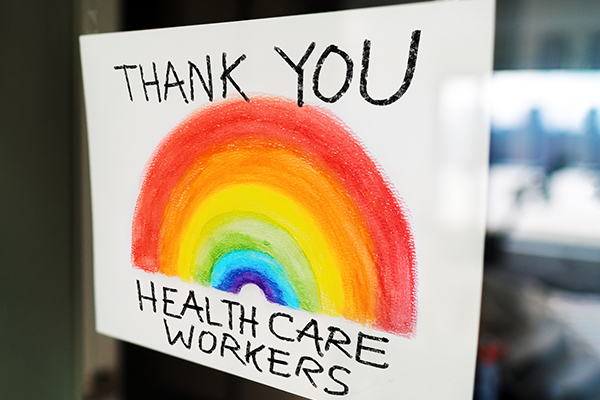 Article image for Thanking frontline workers: First responders find out they've won $3000 vouchers!