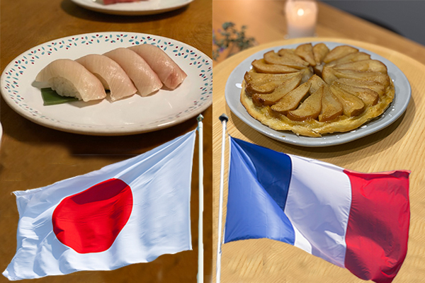 Article image for The World Cup of Food: Japan v France