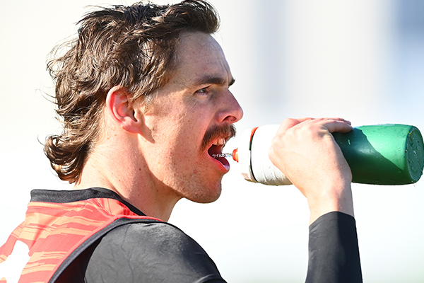 Article image for Joe Daniher suffers another injury setback