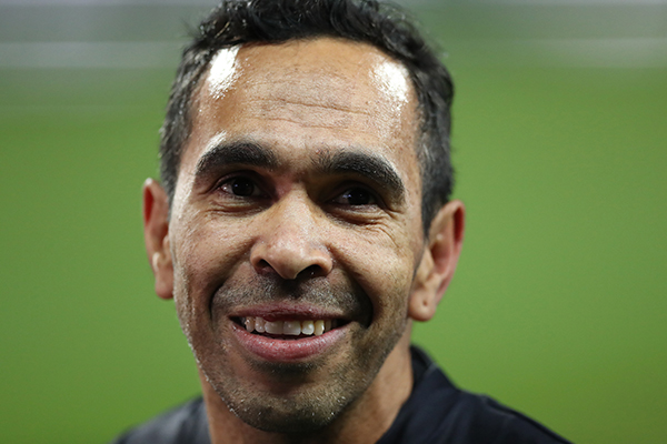 Article image for So, Eddie Betts is a BIG fan of Izak Rankine!