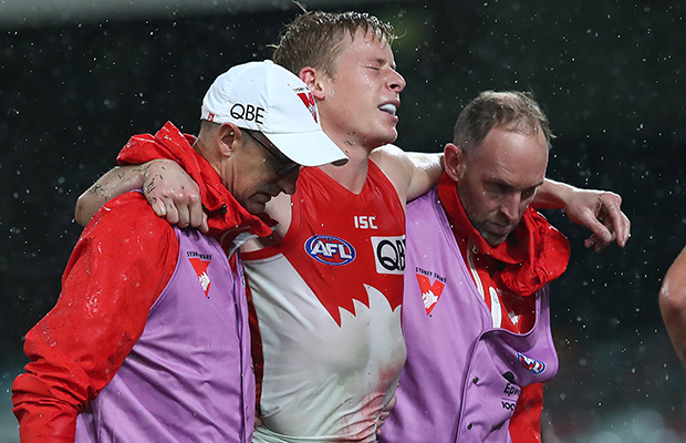 Article image for Sydney suffers shocking double injury blow