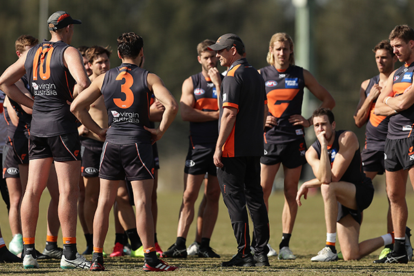 GWS says there's zero chance of Leon Cameron being sacked as coach
