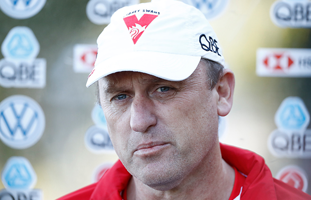 Article image for John Longmire gives an insight into his phone call with Damien Hardwick