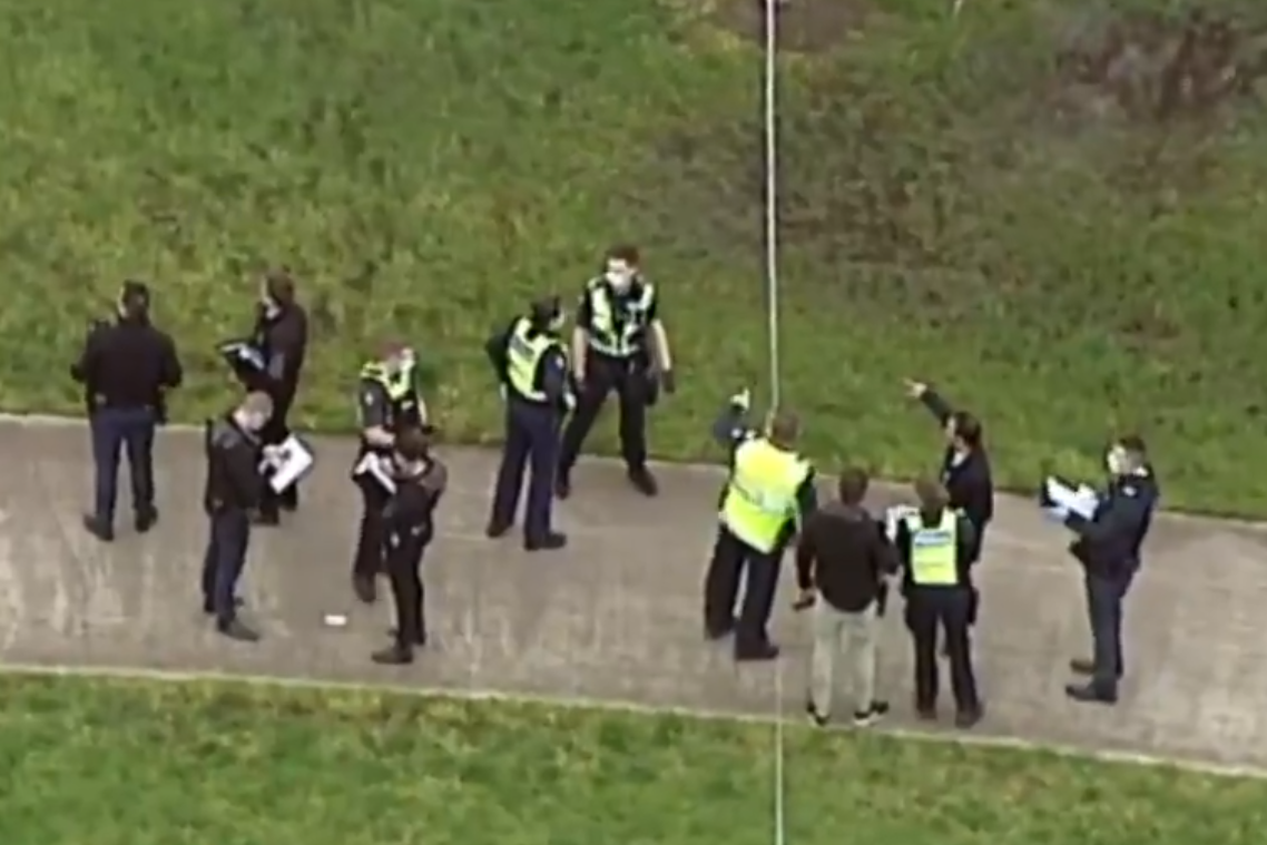 Police shoot man dead after stabbing attack at a Melbourne park