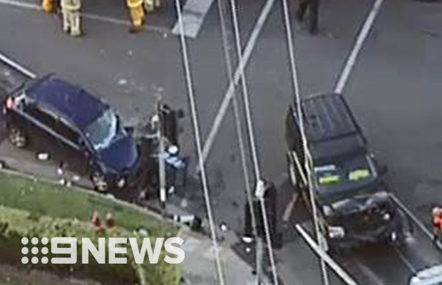 Article image for Child fights for life after shocking smash at Werribee