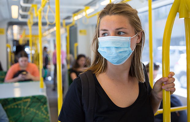 Article image for We should be wearing face masks in public, says AMA