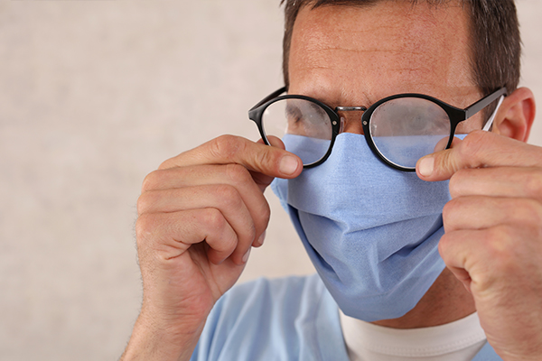 Article image for How to stop your glasses fogging while wearing a face mask