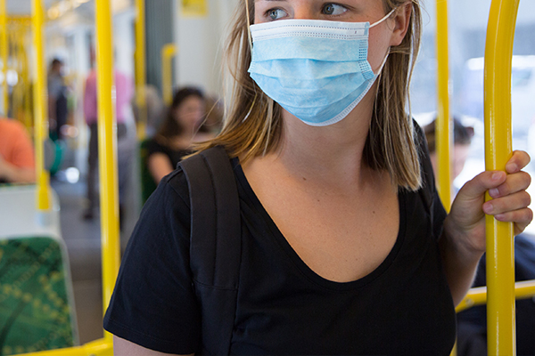Article image for Union pushes for compulsory face masks on public transport