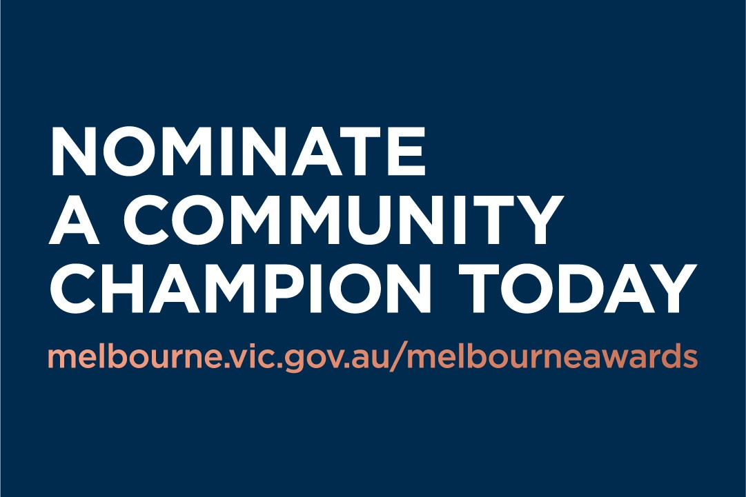 Article image for Nominate someone you know for the 2020 Melbourne Awards!