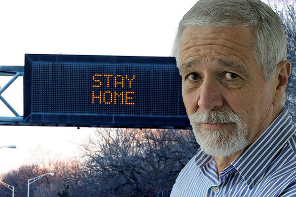 Article image for Don't dwell, it's up to us now: Neil Mitchell's message as Melbourne returns to lockdown