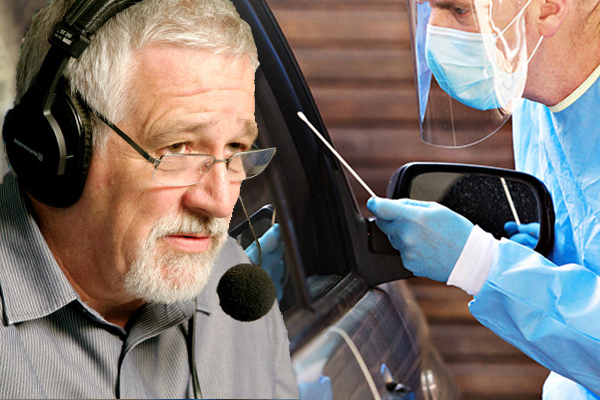 Article image for Neil Mitchell's message to Victorians refusing to be tested for COVID-19