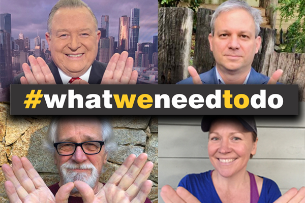 Article image for C'mon, Victoria! Neil Mitchell launches #WhatWeNeedToDo campaign