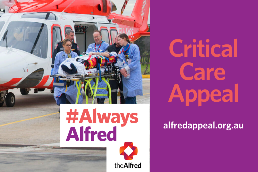 Article image for Donate: 3AW proudly supporting The Alfred Critical Care Appeal