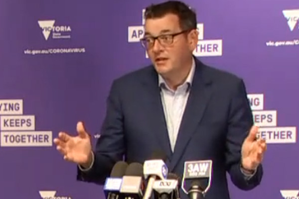 Tom Elliott reacts to poll showing strong support for Daniel Andrews