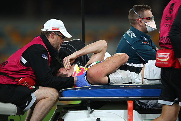 Article image for 'Madness': Mick Warner questions 'optics' of concussion call