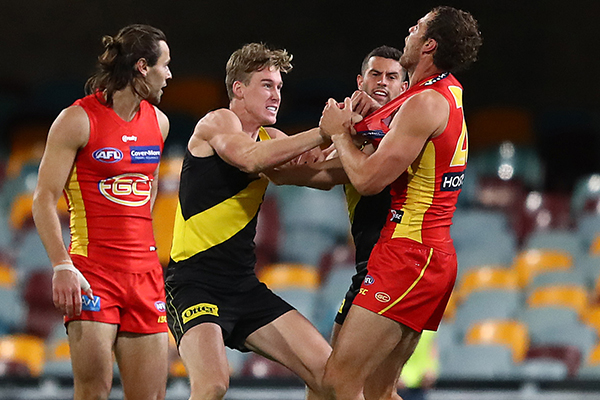 Article image for Richmond chief slams 'outrageous' treatment of Tom Lynch