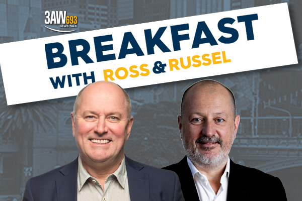 Article image for The next chapter has begun: Watch Russel Howcroft's first moments on 3AW Breakfast!