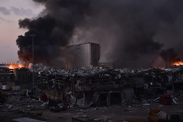 Article image for Australian among at least 78 people killed in massive Beirut explosion