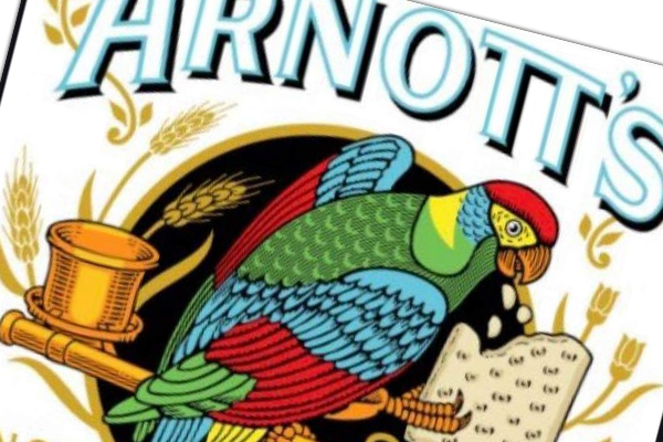 Article image for Iconic snack brand Arnott's changes its 'corporate' logo