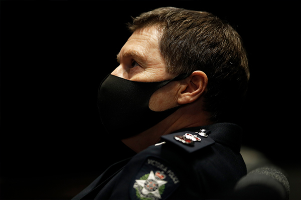 Article image for Police did raise concerns about quarantine hotels, Chief Commissioner confirms