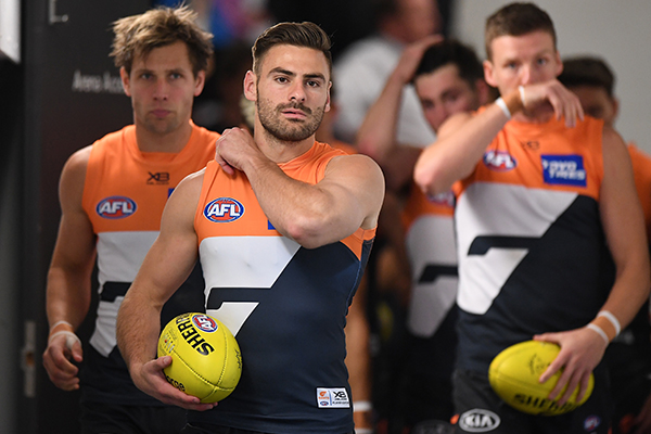 Article image for Stephen Coniglio situation 'doesn't smell right' to AFL great