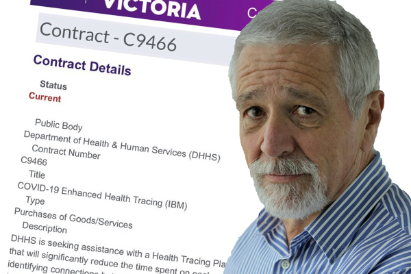Article image for Neil Mitchell chases answers over $4.1 million contract-tracing contract