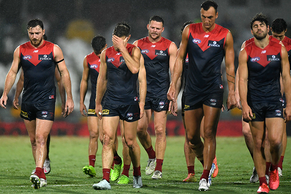 Article image for Melbourne great responds to 'bitterly disappointing' defeat