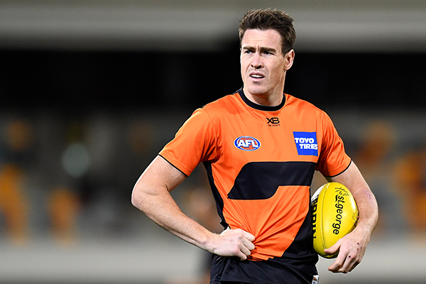 Article image for Jeremy Cameron and GWS a 'fair distance apart' in contract talks