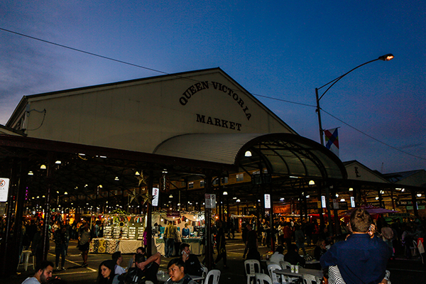 Article image for Queen Victoria Market a big winner from travel restrictions easing