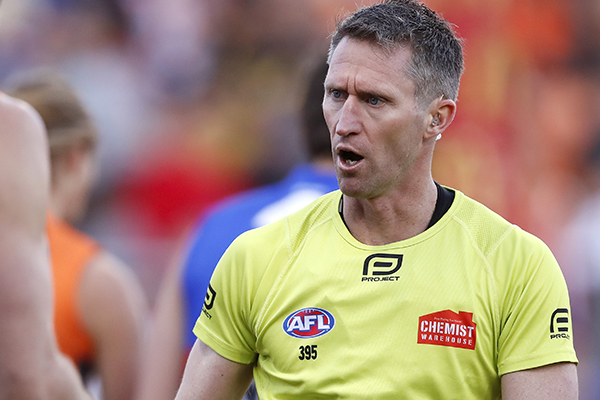 What's changed most for this AFL umpire throughout his decorated career