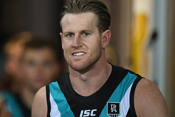 Article image for The 2020 change the Port Adelaide skipper could see becoming permanent