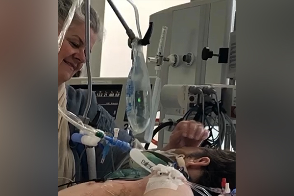 Article image for The Alfred Critical Care Appeal: Mum's message to ICU staff who saved her son