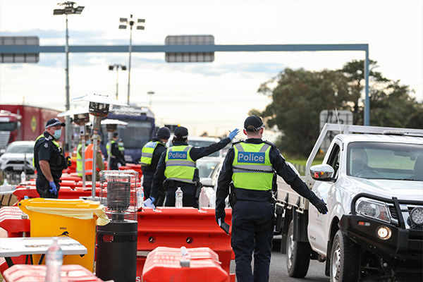 Article image for Victoria's state of emergency powers extended for six months