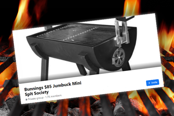 Article image for The wildly popular group dedicated to an $85 barbecue from Bunnings