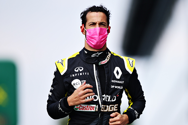 Article image for Daniel Ricciardo says there's a silver lining to the shortened F1 season