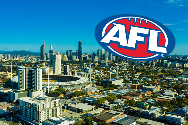 Article image for Brisbane midfielder responds to reports The Gabba will host AFL grand final
