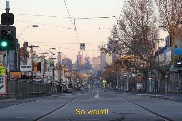 Article image for Iso-Cray: Short video provides window into how Melburnians are coping with lockdown