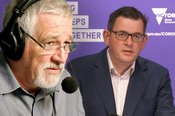Article image for What Neil Mitchell thinks Daniel Andrews must to do on Sunday to avoid a rebellion