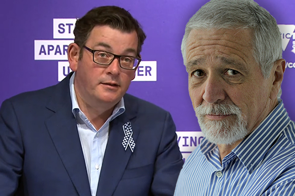 Article image for Neil Mitchell says Daniel Andrews is 'cracking' and he has a message for him