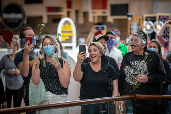 Article image for Police using CCTV to track down protesters involved in bizarre Chadstone flash mob